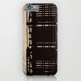 bridge to a simpler time iPhone Case