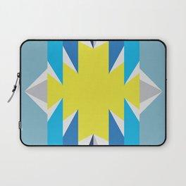 SUN_Yellow Star_Summer - Style Me Stripes Laptop Sleeve