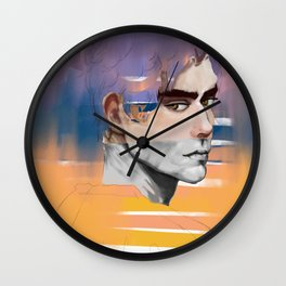 We gather up our hearts and go thousand kisses deep Wall Clock