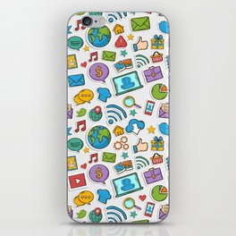 Like me all over the world iPhone Skin