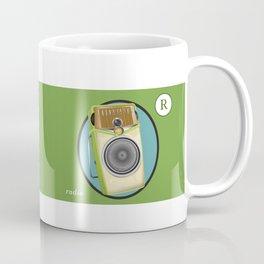 Transistor Radio Flash Card Coffee Mug