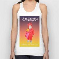 tina crespo Tank Tops featuring Crespo by W.R. Buhler