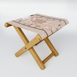 MUOUS Doll Folding Stool