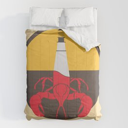 Lobster House Comforters