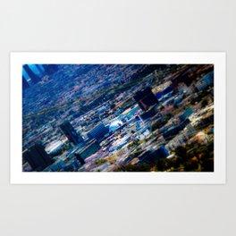 Dome in City Art Print