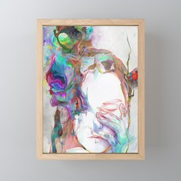 Falling In Framed Mini Art Print