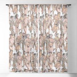 Naked Runners Sheer Curtain