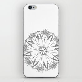 Flower Lace iPhone Skin