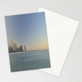 Chicago skyline #1 Stationery Cards