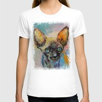 sphynx T-shirts featuring Sphynx by Michael Creese