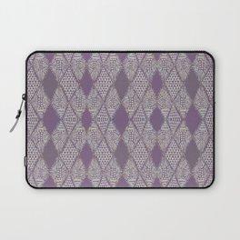 Tribal Mosaic in Mauve Laptop Sleeve