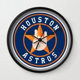 Htown Astros Wall Clock