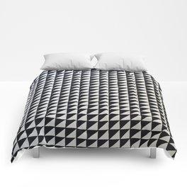 Original Geometric Design by Dominic Joyce Comforters