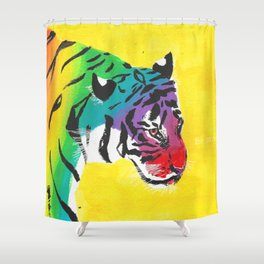 Be proud, Tiger, jungle cat Shower Curtain