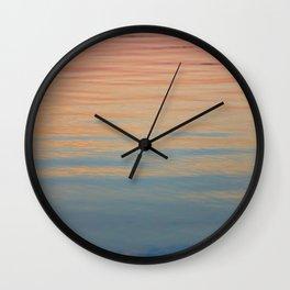 Watercolor Ocean Wall Clock