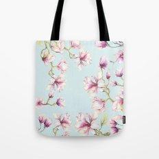 Delicate Magnolia Tote Bag