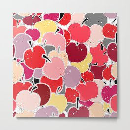 Apple-licious Metal Print