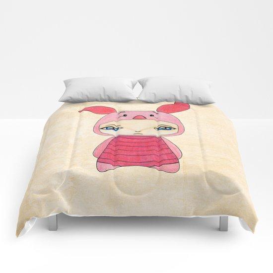 A Boy - Piglet (porcinet) Comforters