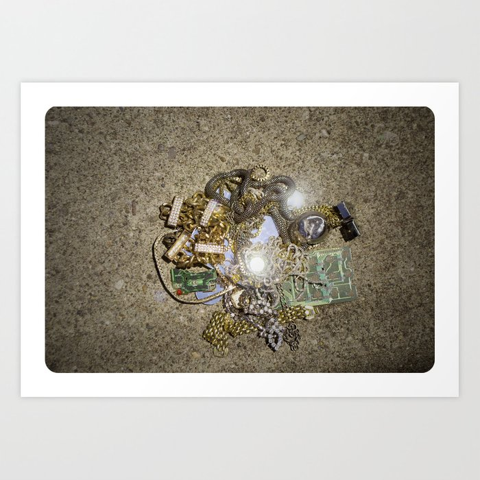 Jewelry: Lost and Found Photo Art Print