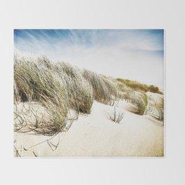 Sea and Sand, Kellogg Beach, Crescent City, California. Throw Blanket