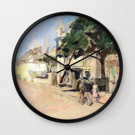 The Fountain Tavern, Penzance, circa - Stanhope Alexander Forbes Wall Clock