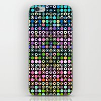 matrix iPhone & iPod Skins featuring Dot Matrix... by Lisa Argyropoulos