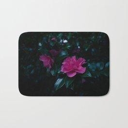 Dark flowers I Bath Mat