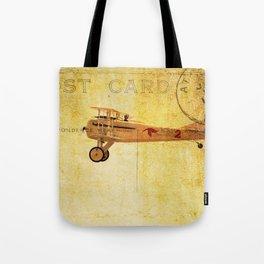 Vintage Flight Tote Bag
