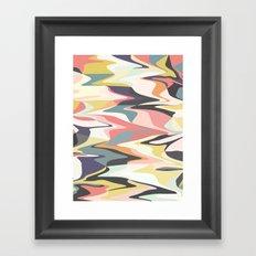 Deco Marble Framed Art Print