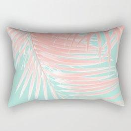 Palm Leaves Summer Vibes #9 #tropical #decor #art #society6 Rectangular Pillow