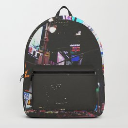 Evening Glow - Times Square Backpack