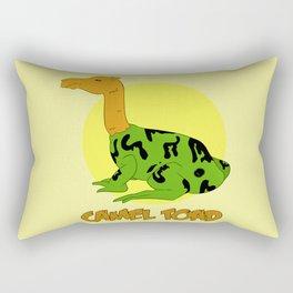 The Camel Toad Rectangular Pillow