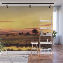 Scituate Valley before the Reservoir by Martin Charles Heade Wall Mural