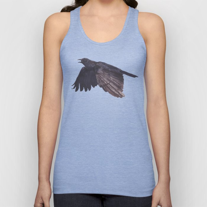 As the Crow Flies Unisex Tank Top