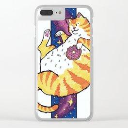 Fat Cat Clear iPhone Case
