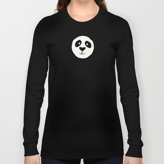 Pleased Panda Long Sleeve T-shirt