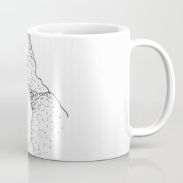 Doted Mountain Coffee Mug