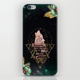 ACOWAR - You Are A Wolf iPhone Skin