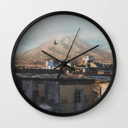 Arequipa, Peru Wall Clock