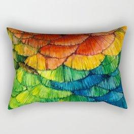 Scarlet-breasted Rectangular Pillow
