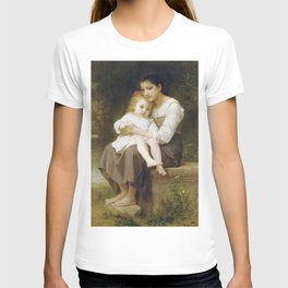 Adolphe William Bouguereau - La Soeur Ainee T-shirt