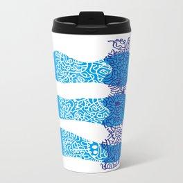 Water Cell Metal Travel Mug