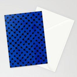 Orange Grunge Texture Stationery Cards