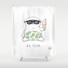 Oh Yeah Shower Curtain