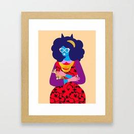 Bethany Cheetah Framed Art Print