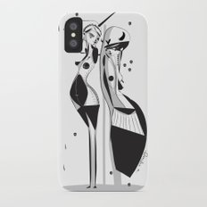 Sleepless nights - Emilie Record iPhone X Slim Case