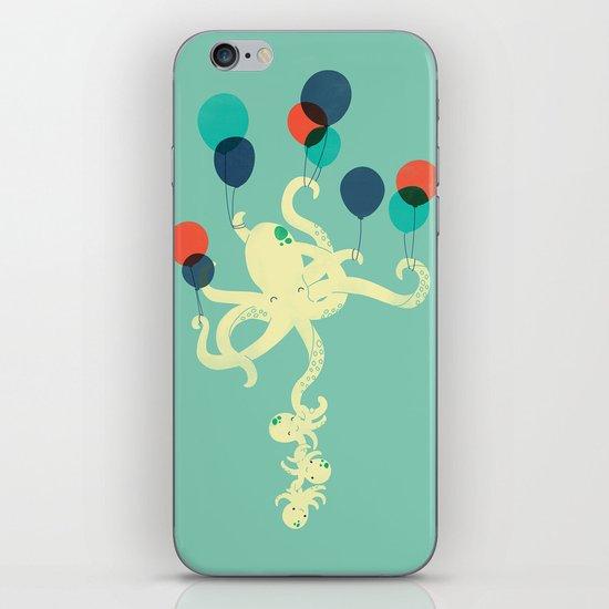 Up We Go iPhone & iPod Skin