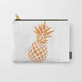 Orange Swirl Pineapple - Single Carry-All Pouch