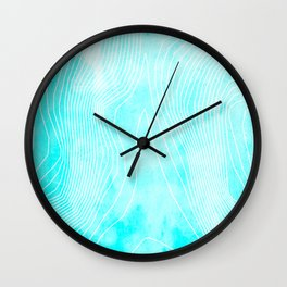 Topography - Everest Wall Clock