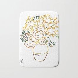 Minimal Gogh Bath Mat
